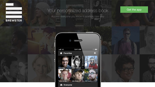 Brewster - the new mobile rolodex for people in our lives - MLOVE
